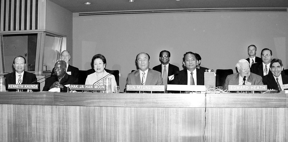 True Father Proposes Interreligious Council at the United Nations 18 August 2000
