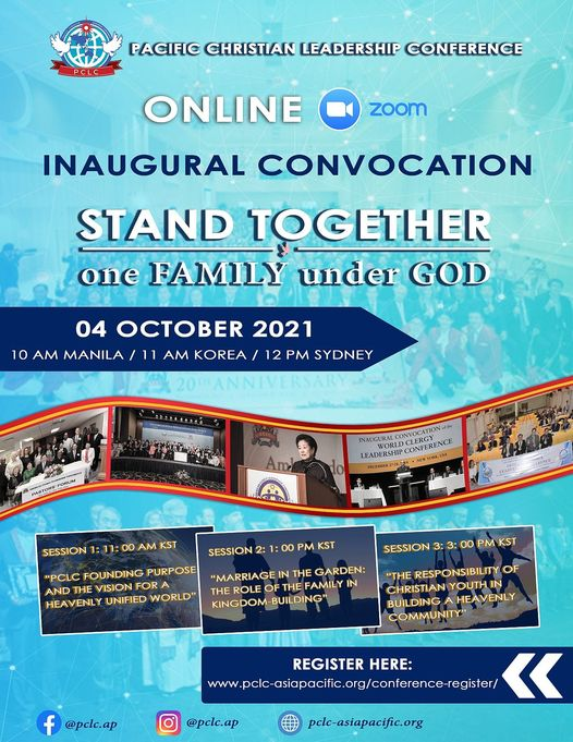 Registration now open for the online PCLC Inaugural Rally 4 October 2021 12noon (Sydney time).